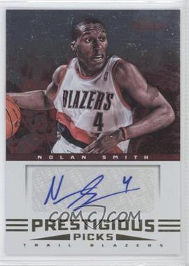 2012-13 Prestige - Prestigious Picks Signatures #19 - Nolan Smith