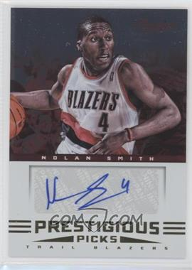 2012-13 Prestige - Prestigious Picks Signatures #19 - Nolan Smith