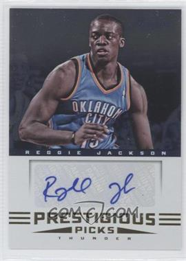 2012-13 Prestige - Prestigious Picks Signatures #21 - Reggie Jackson