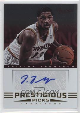 2012-13 Prestige - Prestigious Picks Signatures #4 - Tristan Thompson
