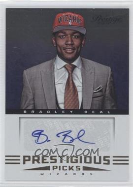 2012-13 Prestige - Prestigious Picks Signatures #47 - Bradley Beal