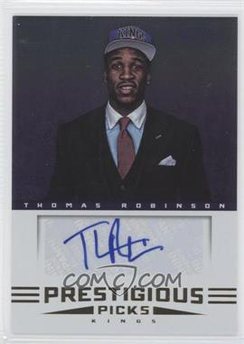 2012-13 Prestige - Prestigious Picks Signatures #49 - Thomas Robinson