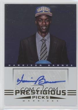 2012-13 Prestige - Prestigious Picks Signatures #51 - Harrison Barnes