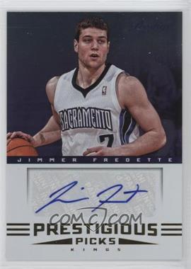 2012-13 Prestige - Prestigious Picks Signatures #9 - Jimmer Fredette