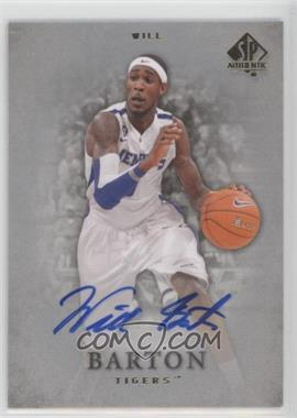 2012-13 SP Authentic - [Base] - Autographs #36 - Will Barton [Noted]