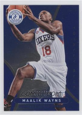 2012-13 Totally Certified - [Base] - Totally Blue #254 - Maalik Wayns /299
