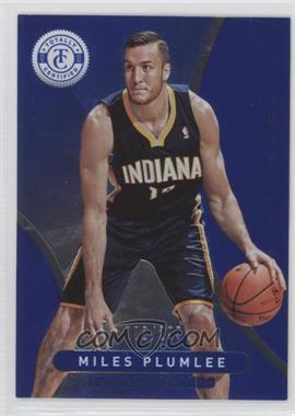 2012-13 Totally Certified - [Base] - Totally Blue #278 - Miles Plumlee /299