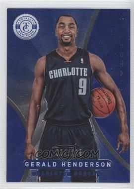 2012-13 Totally Certified - [Base] - Totally Blue #97 - Gerald Henderson /299