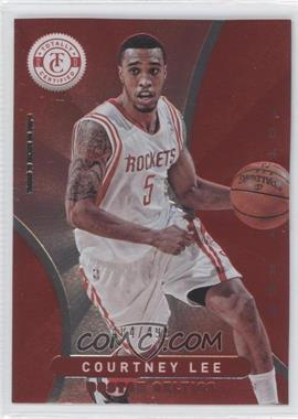 2012-13 Totally Certified - [Base] - Totally Red #127 - Courtney Lee /499