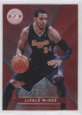 2012-13 Totally Certified - [Base] - Totally Red #142 - JaVale McGee /499
