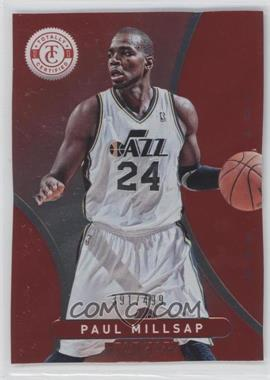 2012-13 Totally Certified - [Base] - Totally Red #147 - Paul Millsap /499
