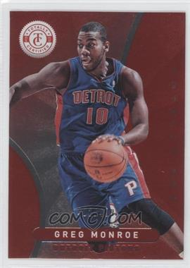 2012-13 Totally Certified - [Base] - Totally Red #148 - Greg Monroe /499