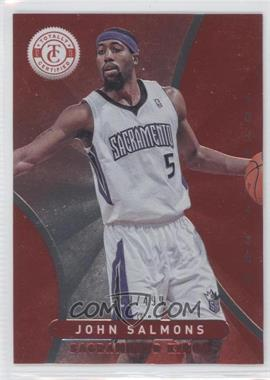 2012-13 Totally Certified - [Base] - Totally Red #176 - John Salmons /499