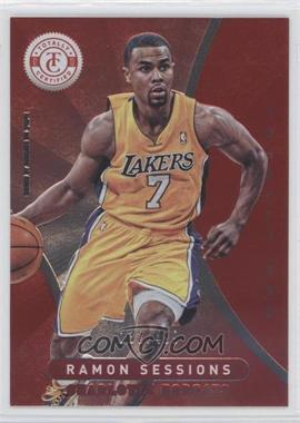 2012-13 Totally Certified - [Base] - Totally Red #178 - Ramon Sessions /499