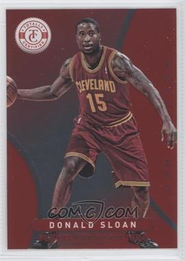 2012-13 Totally Certified - [Base] - Totally Red #231 - Donald Sloan /499
