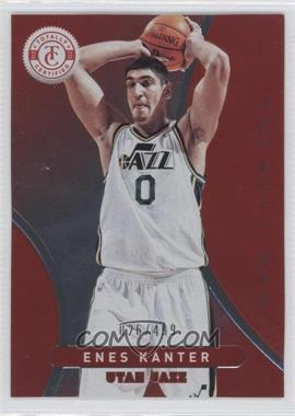 2012-13 Totally Certified - [Base] - Totally Red #38 - Enes Kanter /499