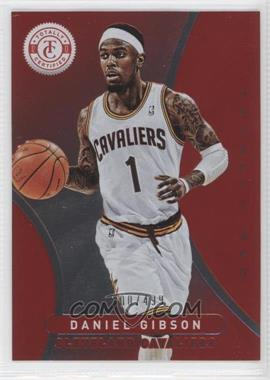 2012-13 Totally Certified - [Base] - Totally Red #78 - Daniel Gibson /499