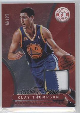 2012-13 Totally Certified - Memorabilia - Totally Red Prime #93 - Klay Thompson /49