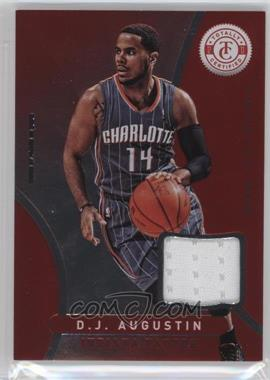2012-13 Totally Certified - Memorabilia - Totally Red #145 - D.J. Augustin