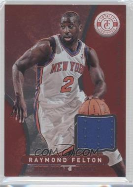 2012-13 Totally Certified - Memorabilia - Totally Red #45 - Raymond Felton