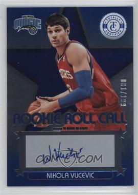 2012-13 Totally Certified - Rookie Roll Call - Blue [Autographed] #94 - Nikola Vucevic /199