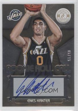 2012-13 Totally Certified - Rookie Roll Call - Gold [Autographed] #26 - Enes Kanter /15