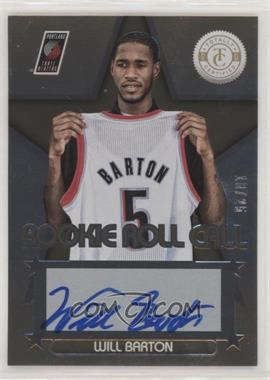 2012-13 Totally Certified - Rookie Roll Call - Gold [Autographed] #83 - Will Barton /25
