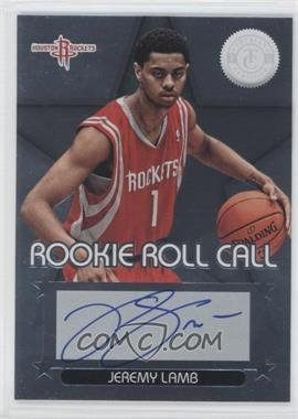 2012-13 Totally Certified - Rookie Roll Call - Silver [Autographed] #12 - Jeremy Lamb