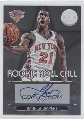 2012-13 Totally Certified - Rookie Roll Call - Silver [Autographed] #2 - Iman Shumpert