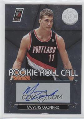 2012-13 Totally Certified - Rookie Roll Call - Silver [Autographed] #24 - Meyers Leonard