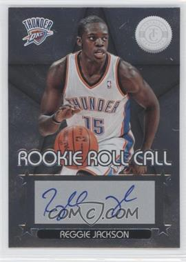 2012-13 Totally Certified - Rookie Roll Call - Silver [Autographed] #66 - Reggie Jackson
