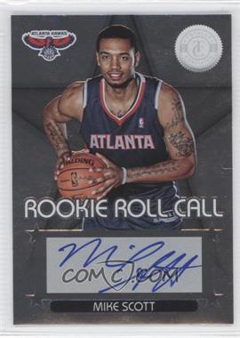 2012-13 Totally Certified - Rookie Roll Call - Silver [Autographed] #88 - Mike Scott