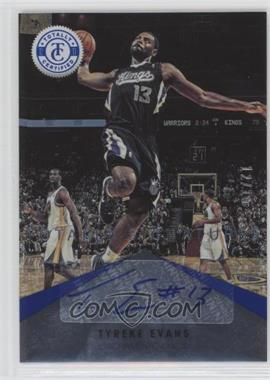 2012-13 Totally Certified - Signatures - Totally Blue #14 - Tyreke Evans /15