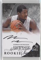 Exquisite Rookie Signatures - Andrew Nicholson /199