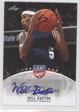 2012 Leaf - Base Autographs #BA-WB1 - Will Barton