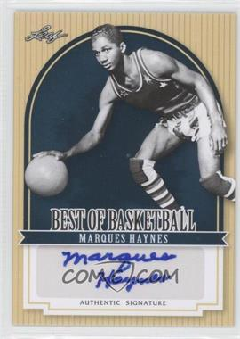 2012 Leaf Best of Basketball - [Base] #MG1 - Marques Haynes