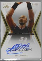 Karl Malone [Noted] #/10
