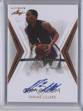 2012 Leaf Ultimate - Base Autographs #BA-DL1 - Damian Lillard