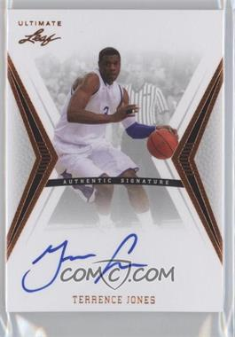 2012 Leaf Ultimate - Base Autographs #BA-TJ1 - Terrence Jones