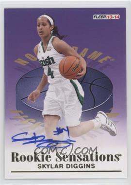 2013-14 Fleer Retro - 1992-93 Rookie Sensations Autographs #RS-14 - Skylar Diggins