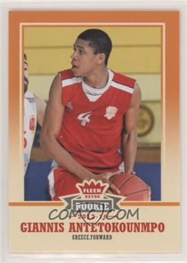 2013-14 Fleer Retro - [Base] #47 - Giannis Antetokounmpo [EX to NM]