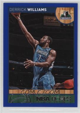 2013-14 NBA Hoops - [Base] - Blue #127 - Derrick Williams