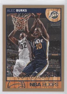 2013-14 NBA Hoops - [Base] - Gold #165 - Alec Burks