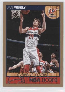 2013-14 NBA Hoops - [Base] - Gold #175 - Jan Vesely
