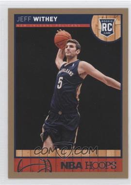 2013-14 NBA Hoops - [Base] - Gold #295 - Jeff Withey
