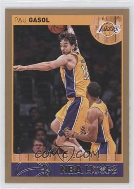 2013-14 NBA Hoops - [Base] - Gold #4 - Pau Gasol