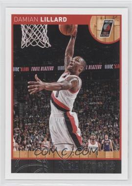 2013-14 NBA Hoops - [Base] - Red Back #106 - Damian Lillard