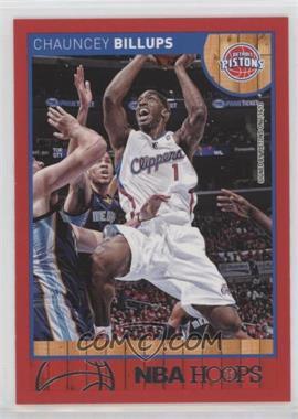 2013-14 NBA Hoops - [Base] - Red #190 - Chauncey Billups