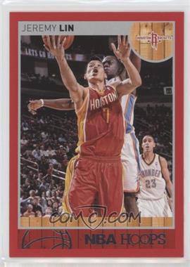 2013-14 NBA Hoops - [Base] - Red #89 - Jeremy Lin