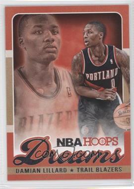 2013-14 NBA Hoops - Dreams #23 - Damian Lillard